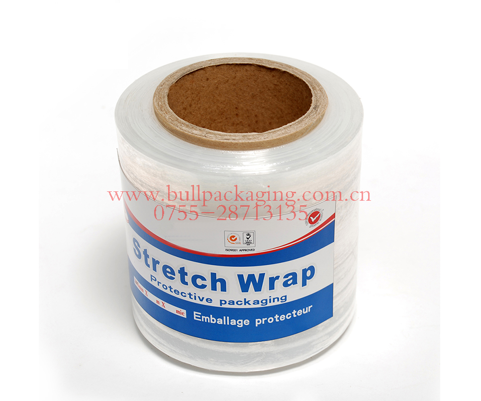 pre-stretch film for machine stretch wrap