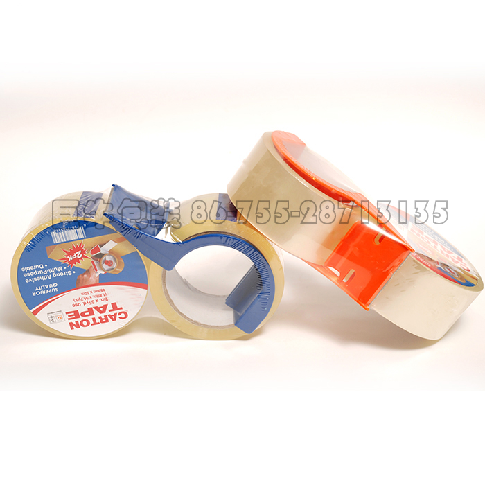 low noise BOPP packing tape with