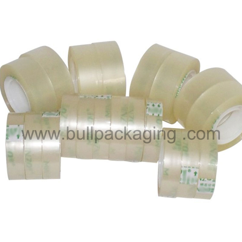 transparent water based acrylic High clarity Bopp stationery tape