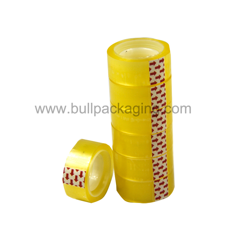 easy tear bopp stationery tape made in china