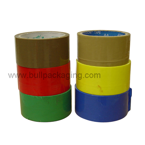 High quality adhesive tapes Packages sealing colorful Bopp packing tape
