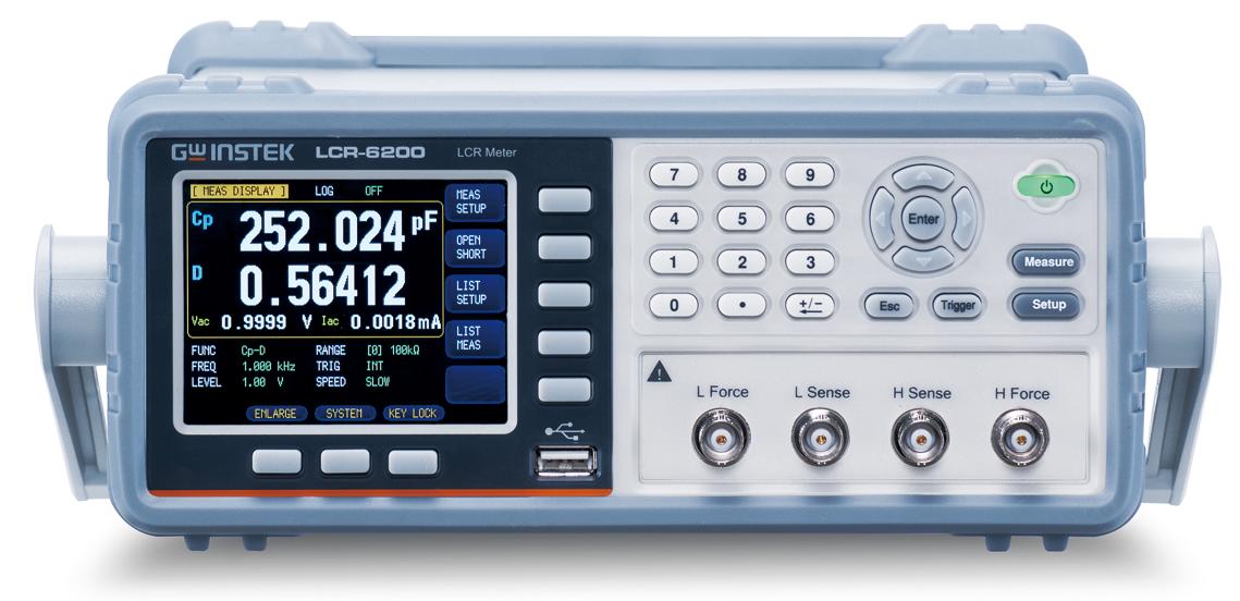 固纬lcr-6100电桥测试仪