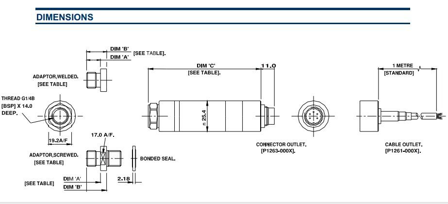 美国meas压力传感器p1200 - 深圳市奥德赛创精密仪器