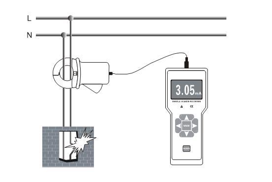 ETCR8000B Current/Leakage Monitoring Recorder
