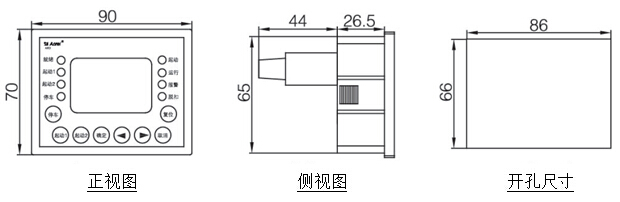 安科瑞智能电动机保护器 ARD3-1,ARD3-6.3 电机功率2.2Kw 张娟选型报价厂家直销