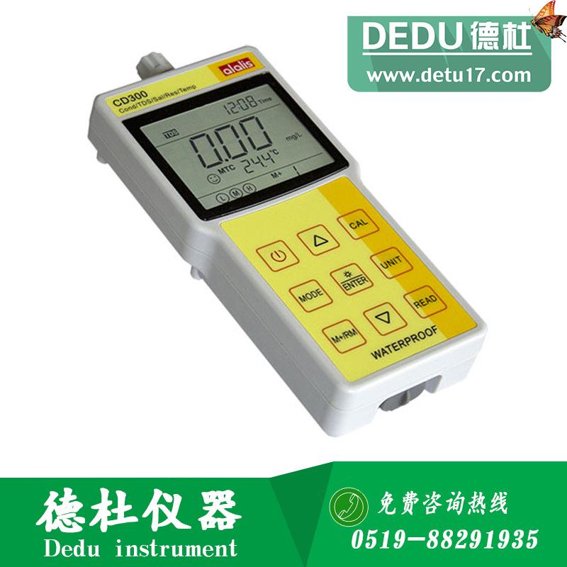 美国alalis安莱立思PC320型便携式pH/电导率仪