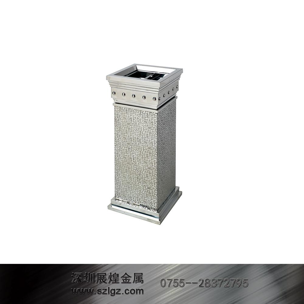 金属座地烟灰桶 不锈钢垃圾桶