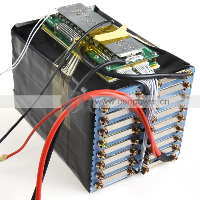 16串(16s) 48v 20ah 美国a123 电池组