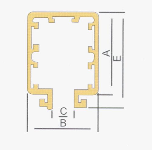 HXTL-4-10/50行车滑触线