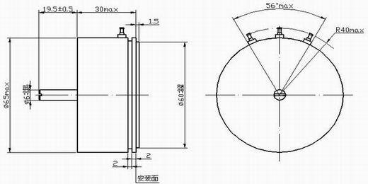 导电塑料角度传感器