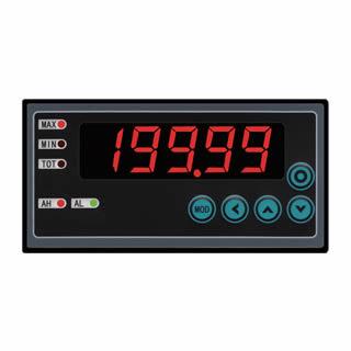 苏州迅鹏WPF-DE型温度显示仪