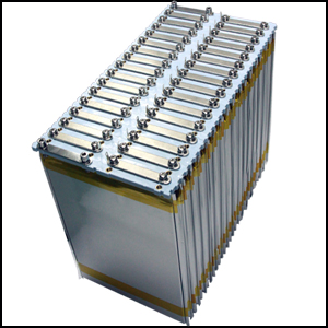 Electric Car Battery Density