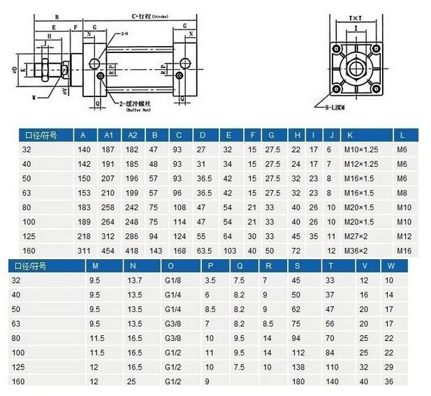 简易气缸电路图