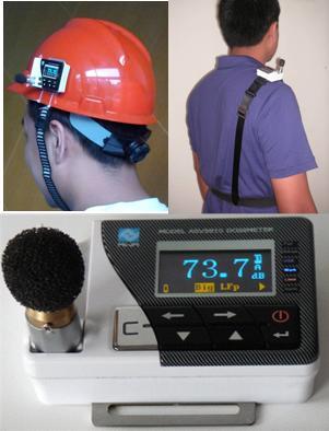 杭州爱华上海销售中心ASV-5910-1B型个人声暴露计 配置1 2级 含防爆  单套简配
