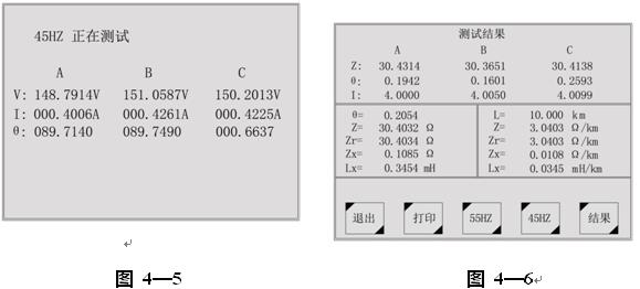 一体式异频法工频线路参数测试仪
