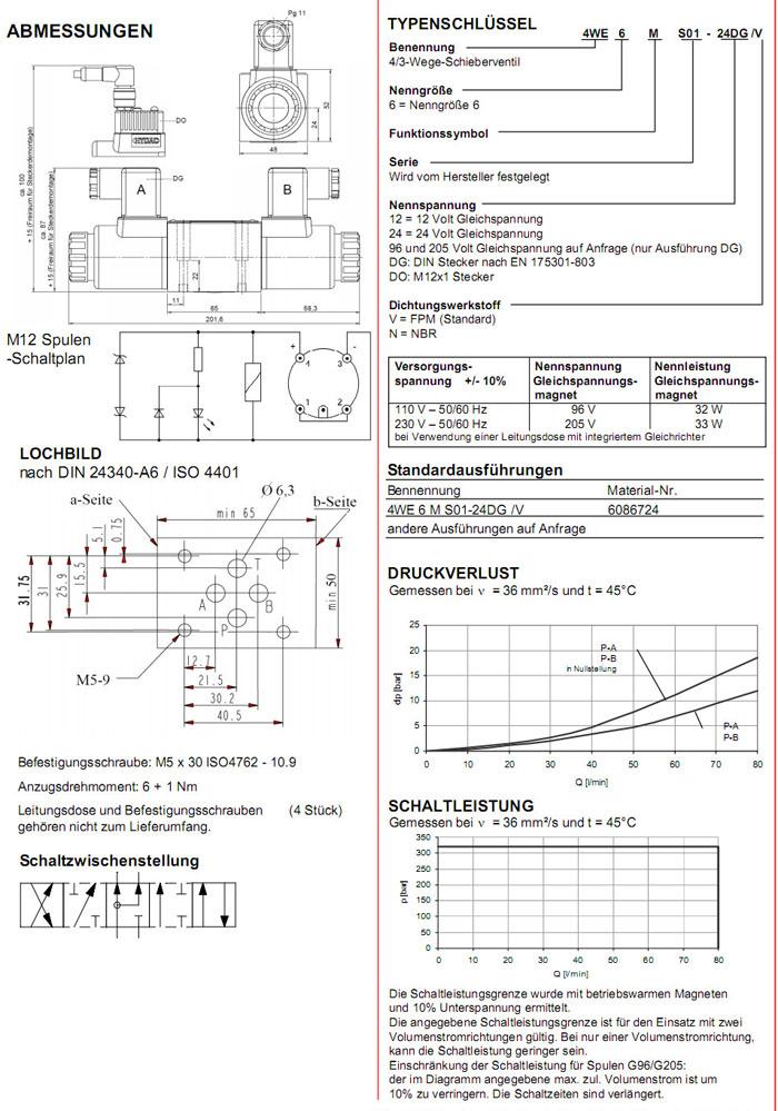 4WE6MS01-12DG/V,4WE6JS01-24DG/V,HYDAC电磁4/3方向滑阀- 网尚购工业品 ...