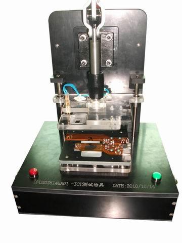 FPC排插对插测试夹锁治具