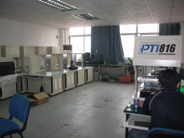ICT在线测试仪组装车间