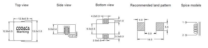 1. 磁屏蔽结构,磁路闭合,抗电磁干扰强(EMI),超低蜂鸣叫,可高密度安装。 2. 磁损低,DC电阻小,在同类规格产品中电流较大。 3. 组立式结构,结构坚固,产品历久弥新、持久防锈。 4. 小体积、大电流,在高频和低温环境下仍保持良好的温升电流及饱和电流。 5. 采用快速脱漆工艺,PIN脚表面光滑、不变形、易上锡。 6.