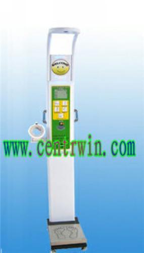 ZKYHW-600身高体重测量仪/体重秤(打印 语音 投币)