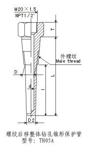 温度计热电阻热电偶蒸汽管道安装套管选型