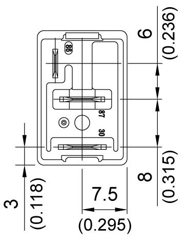 sc松川汽车继电器 871a