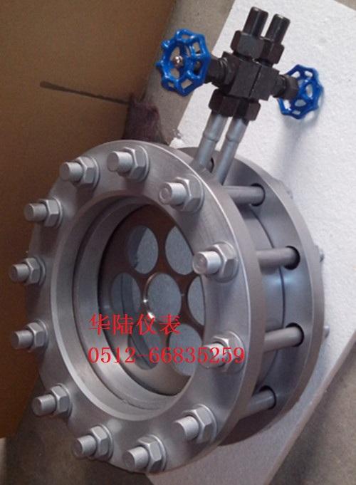 孔板流量计测量从电厂到换热站蒸汽的流量和用量