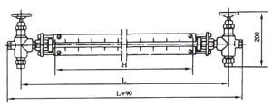 螺纹玻璃管液位计
