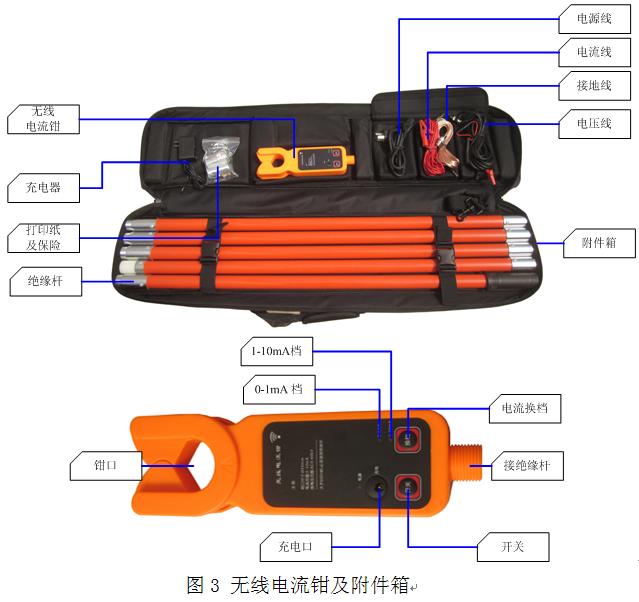 微电脑氧化锌避雷器带电测试仪
