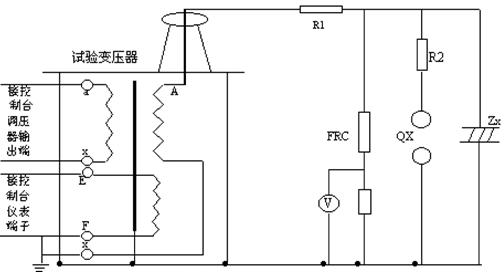 用三台试验变压器串激做工频耐压试验时,第二,三级试验变压器的初级
