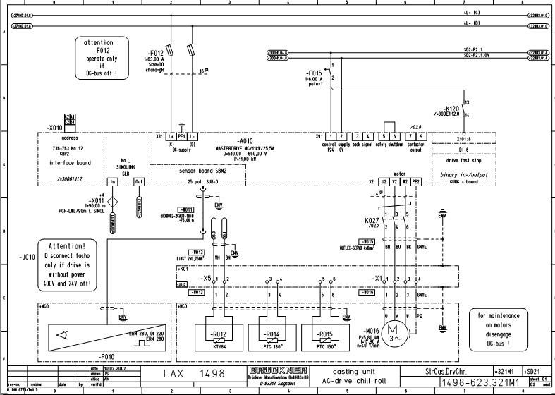 矩电机控制器的电路原理与检修-SIEMENS力矩电机维修图片