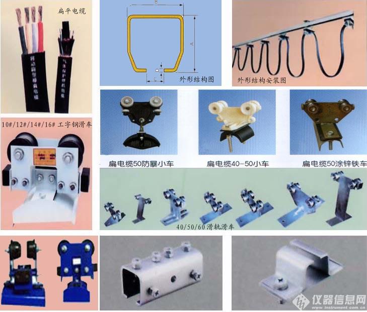 HXDL-33电缆滑线导轨,电缆滑触线