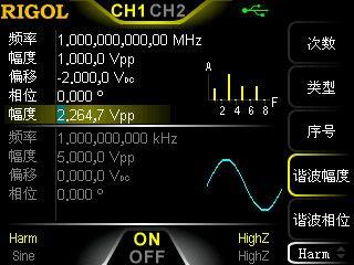 DG1062Z函数/任意波形发生器