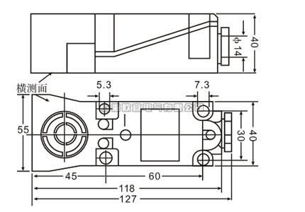 lxj3-25/th接近开关 接近开关技术参数表 名称 电感式接近开关 安装