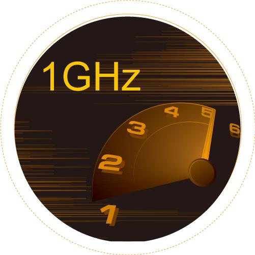 LT500 CPU速度快