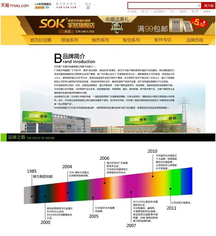 中国十大电工品牌锦力电器上线富润ERP网店管理系统