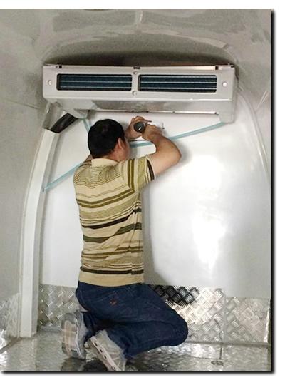 无锡斯洛森为多辆GSP冷藏车安装冷链温度监测设备