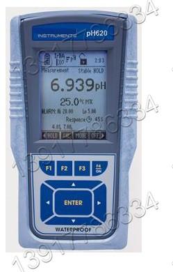 美国Eutech优特pH620防水型便携式pH计