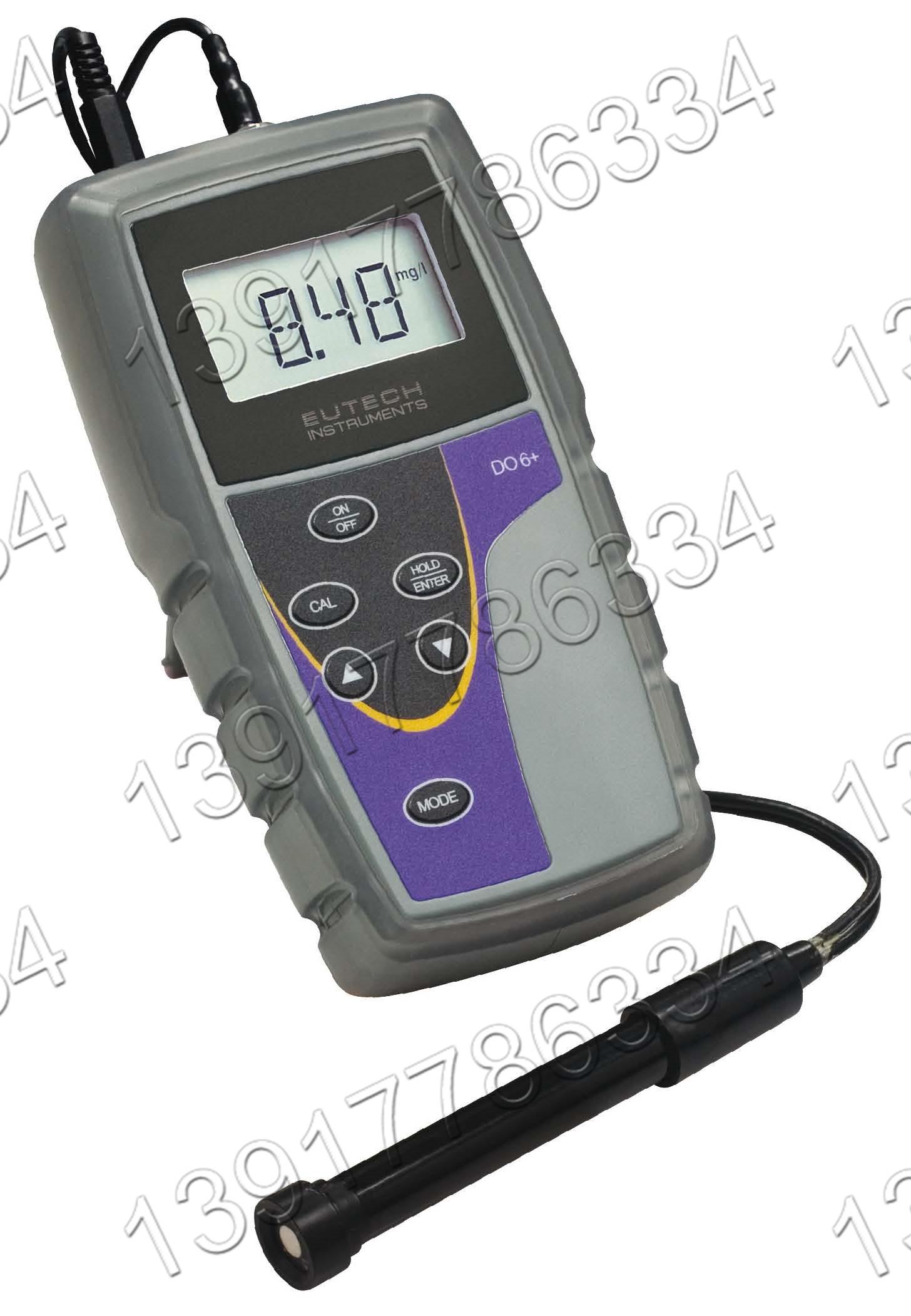 EcoScan DO6+ Eutech便携式单排显示测量溶解氧仪器