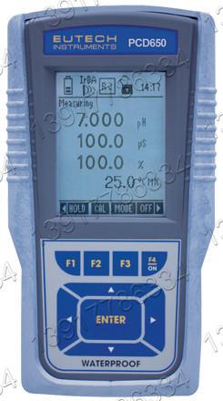 Eutech PCD650便携式防水型多参数水质测量仪