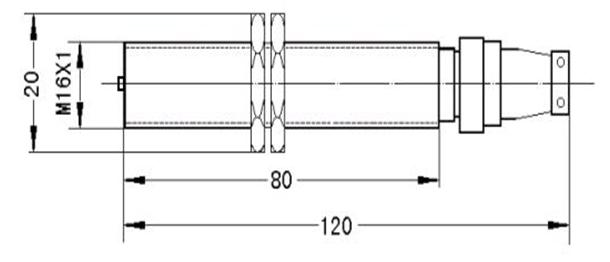 霍尔效应式转速传感器