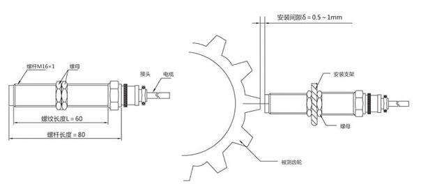 转速传感器,rs-02