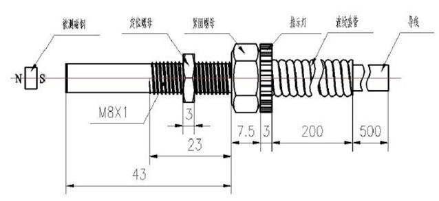 巨磁电阻接近开关传感器图片