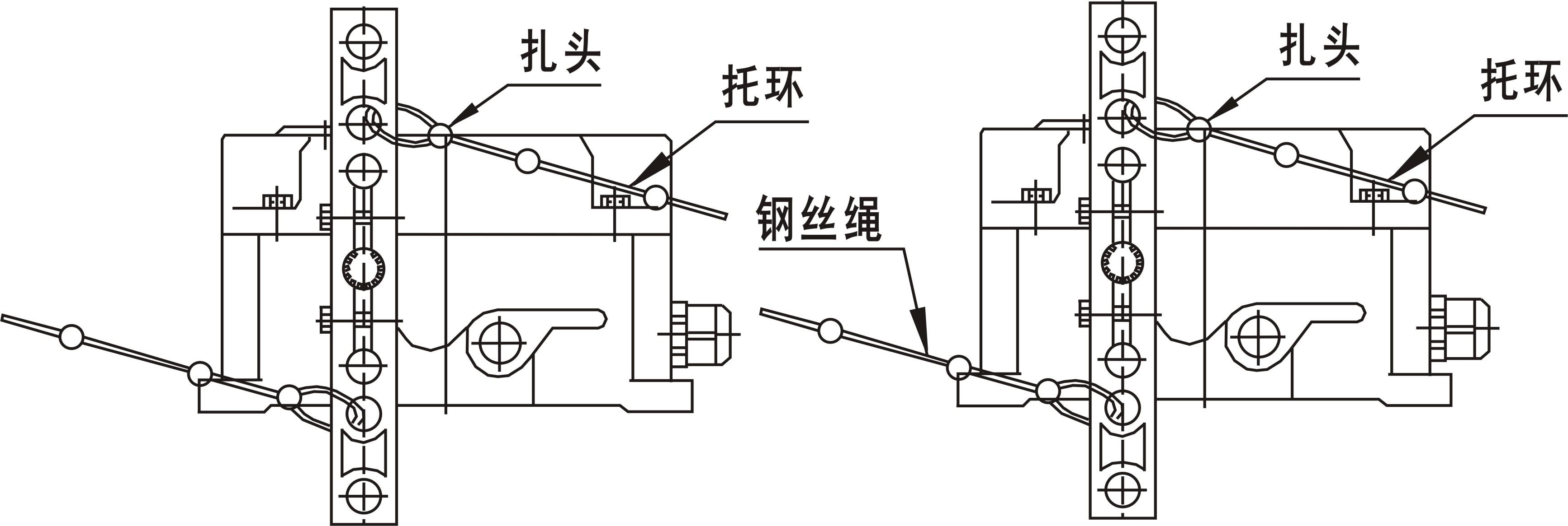 双向拉绳开关_皮带拉绳控制器(jsb/kls-2,jsb/kls-ii)