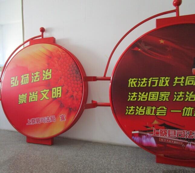 照明:不含(可预留走线孔及安装位置) 灯杆广告灯箱防水:良好 尺寸(mm)