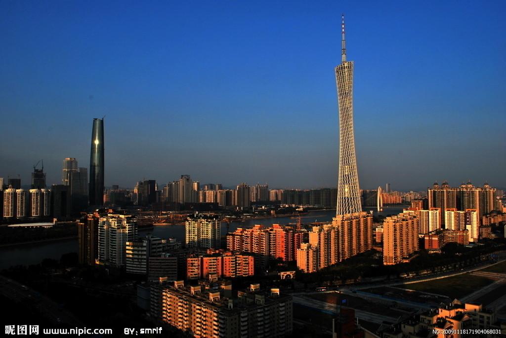 广州电视塔摄影图__国内旅游