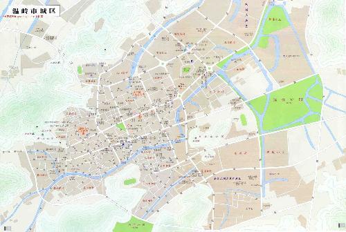 温岭市地图