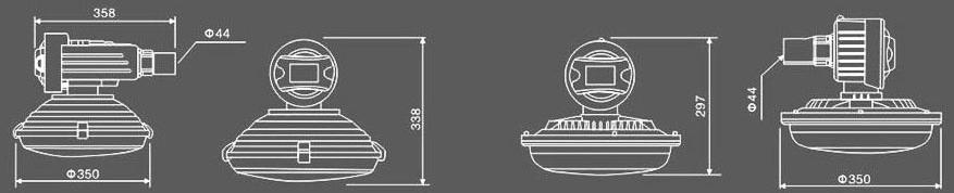 SBR1120 防爆道路灯 的详细介绍 一、SBR1120 防爆道路灯产品特色 1. 本系列产品主要有防爆路灯杆、免维护节能防爆灯具(型号:SBR1120系列)及其它防爆电器组成。 2. 路灯杆由主杆、外挑杆、灯杆底座组成。灯杆底座内可根据用户需要配置防爆接线盒等。 3. 灯杆和底座截面形状为等边多边形或圆形,由优质钢板卷曲成型后焊接而成。灯杆强度高,经久耐用。 4.