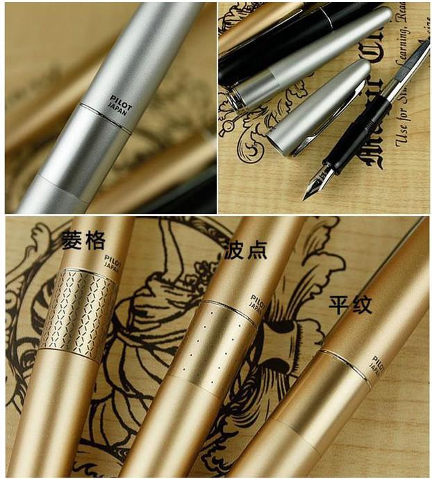 百乐88g金色格纹钢笔 畅销