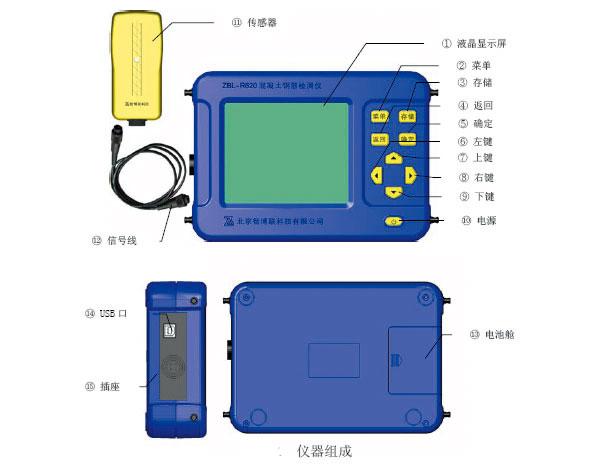 鋼筋位置檢測儀